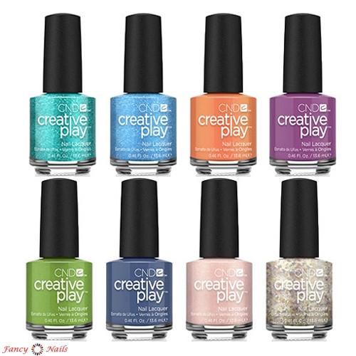 cnd creative play gel polish mood hues