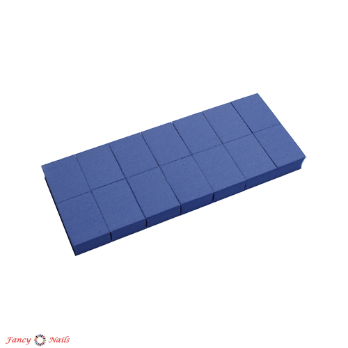 runail набор мини бафов 100 180 грит 14 шт синий