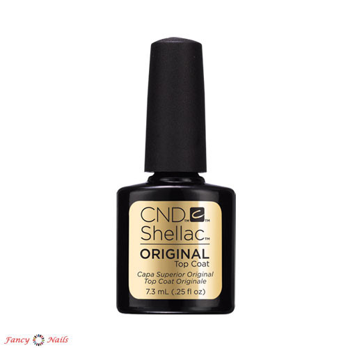 cnd shellac top coat 7.3 мл