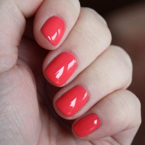 cnd shellac tropix фото на ногтях