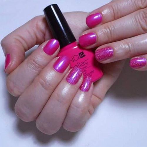 shellac tutti frutti фото на ногтях