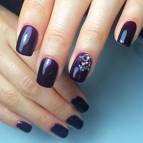 cnd shellac rock royalty фото на ногтях