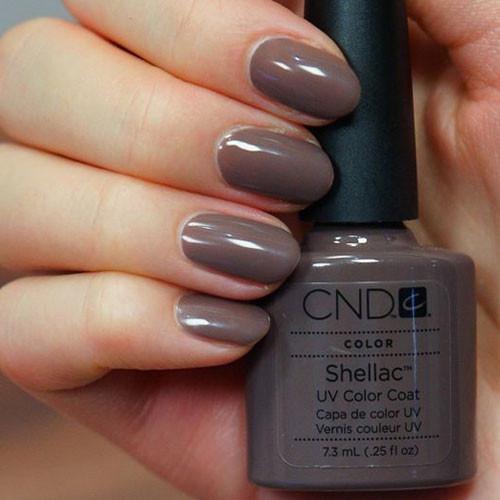 cnd shellac rubble фото на ногтях