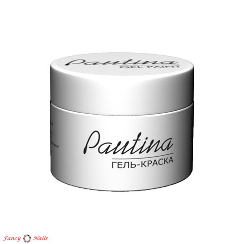 runail гель краска pautina цвет белый