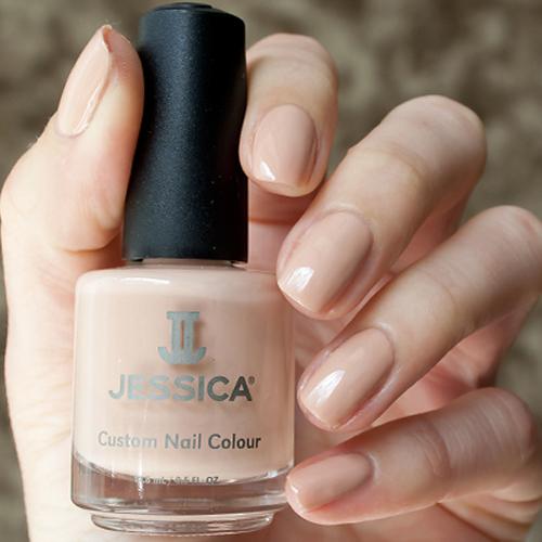 jessica 436 creamy caramel фото на ногтях