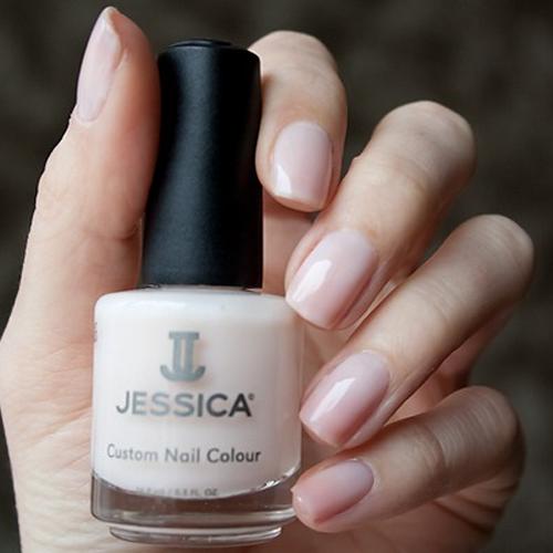 jessica 466 sweet breath фото на ногтях