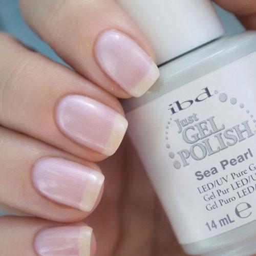 ibd sea pearl фото на ногтях