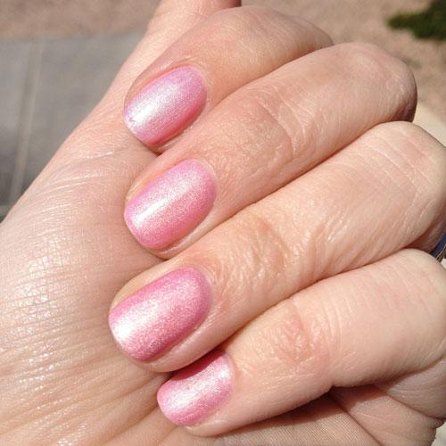 ibd just gel ploish so in love фото на ногтях