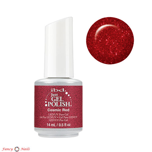 ibd just gel polish cosmic red