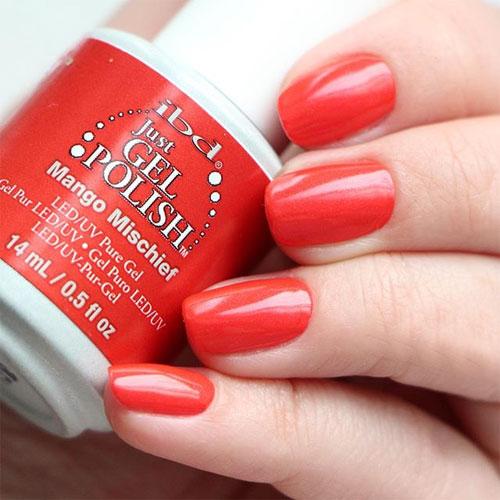 ibd just gel polish mango mischief фото на ногтях