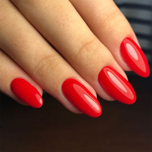 ibd lucky red фото на ногтях