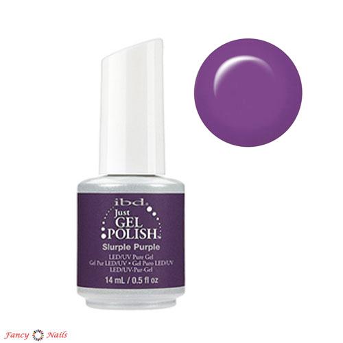 ibd just gel polish slurple purple