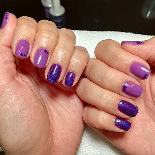ibd slurple purple фото на ногтях