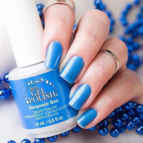 ibd just gel polish sargasso sea фото на ногтях