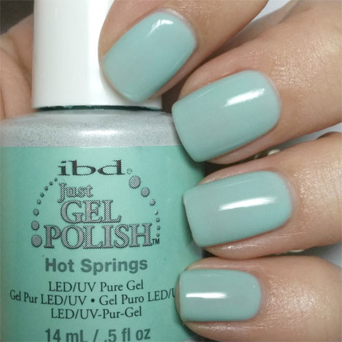 ibd hot springs фото на ногтях