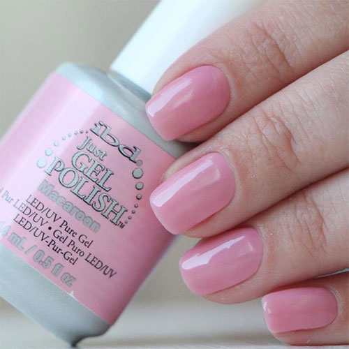 ibd just gel polish macaroon фото на ногтях