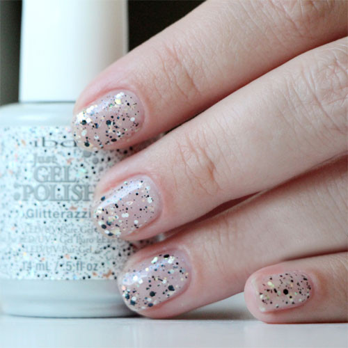 ibd just gel polish glitterazzi фото на ногтях