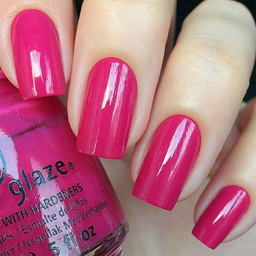china glaze make an entrance фото на ногтях