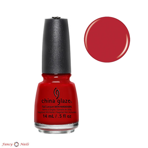 china glaze italian red