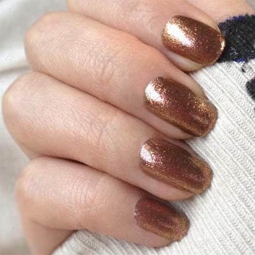 geleration 736 gingersnap фото на ногтях