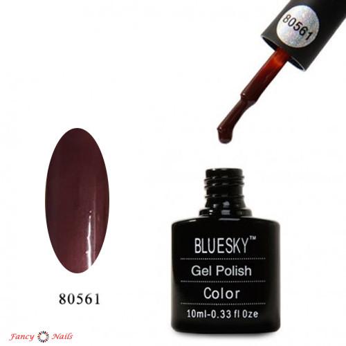 Гель-лак Bluesky 80561 (коричневый)