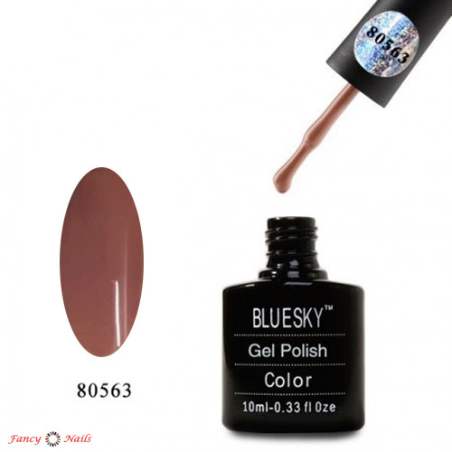 Гель-лак Bluesky 80563 (бежевый)
