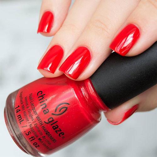 china glaze igniting love фото на ногтях