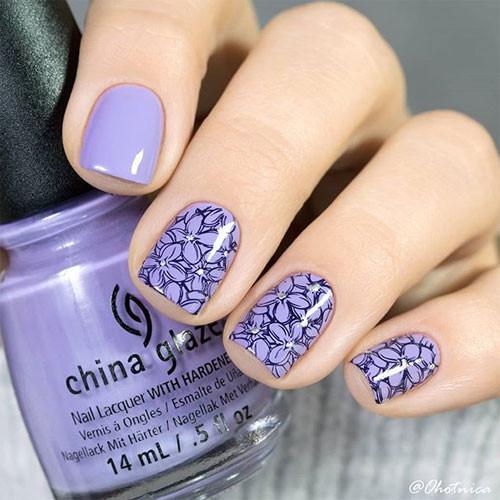 china glaze tarty for the party фото на ногтях