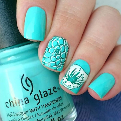 china glaze too yacht to handle на ногтях