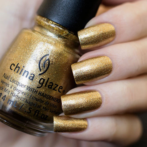 china glaze mingle with kringle на ногтях