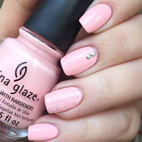 china glaze spring in my step фото на ногтях
