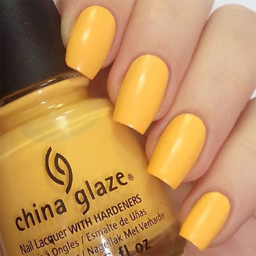 china glaze metro pollen-tin фото на ногтях