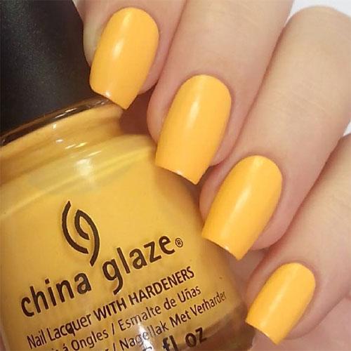 china glaze metro pollen-tin фото на ногтях