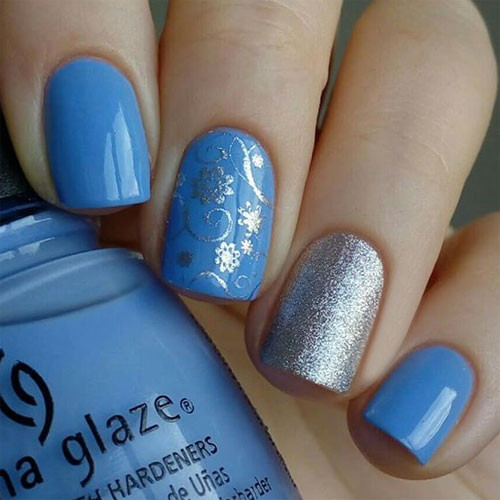 china glaze boho blues фото