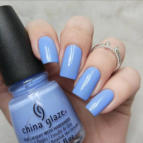 china glaze boho blues фото