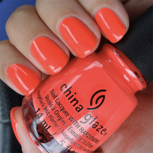china glaze red-y to rave фото
