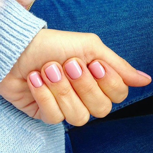 фоcnd shellac blush teddycnd shellac blush teddy фото на ногтях