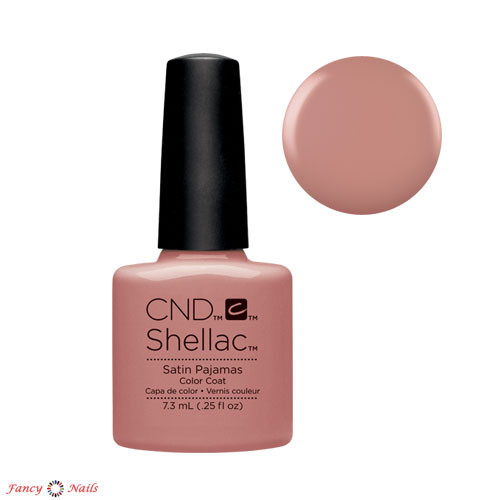 cnd shellac satin pijamas