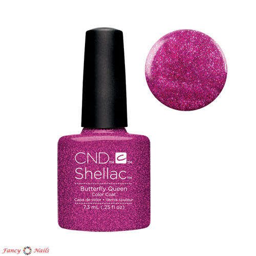 cnd shellac butterfly queen