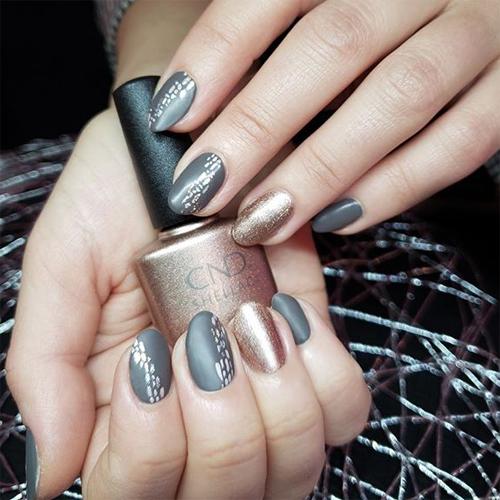 vinylux 296 silhouette фото на ногтях