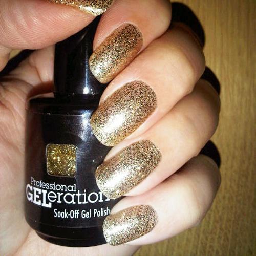 geleration 962 golden goddess фото на ногтях
