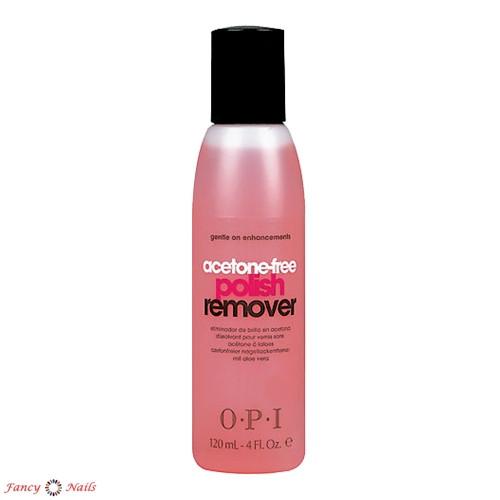 opi acetone free polish remover 120 мл