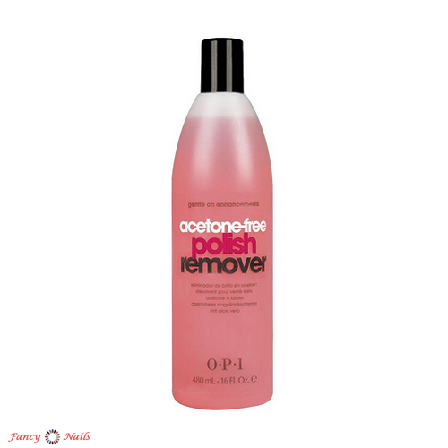 opi acetone free polish remover 450 мл