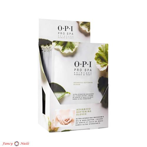 opi pro spa advanced softening gloves 12 шт