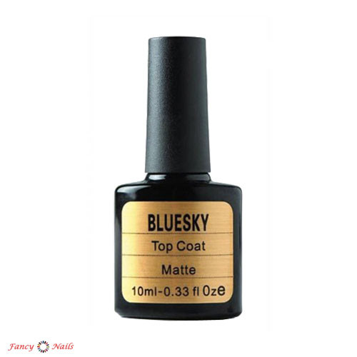 bluesky matte top coat