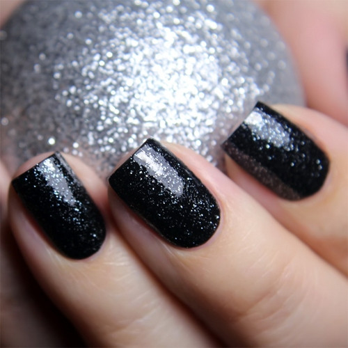 china glaze meet me under the stars фото на ногтях