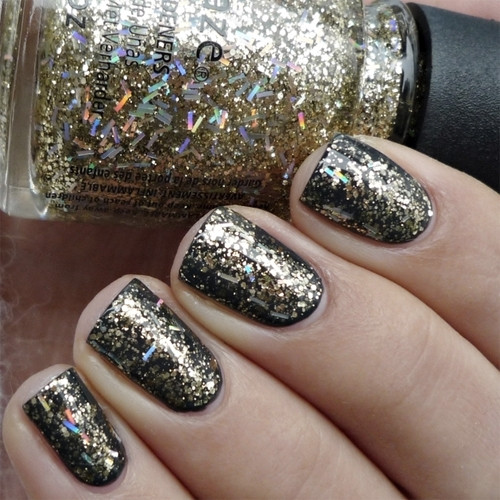 china glaze de-light фото на ногтях