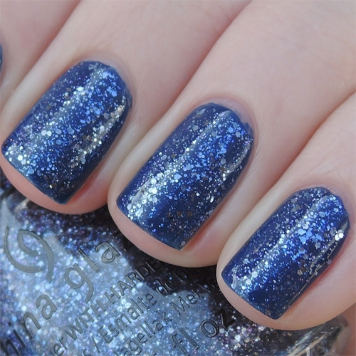 china glaze let's dew it фото на ногтях