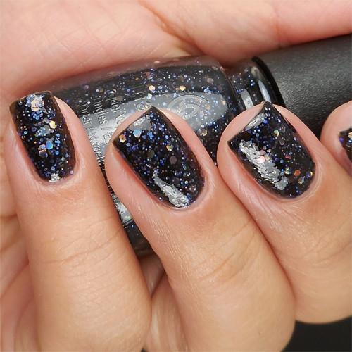 china glaze coal hands warm heart фото на ногтях