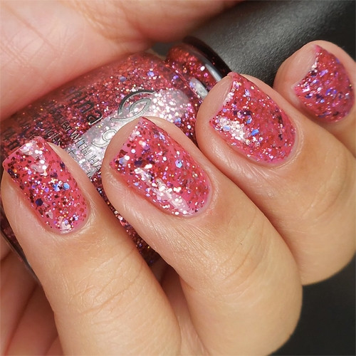 china glaze ugly sweater party фото на ногтях
